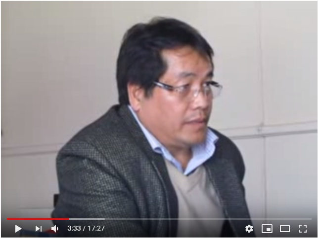 """Prof. Dr. Shishir Subba @ workshop """"State of Psychology in Nepal- 2012"""""""